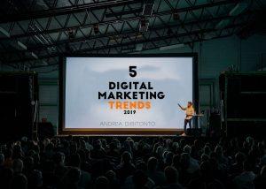 public speaking digital marketing trends 2019