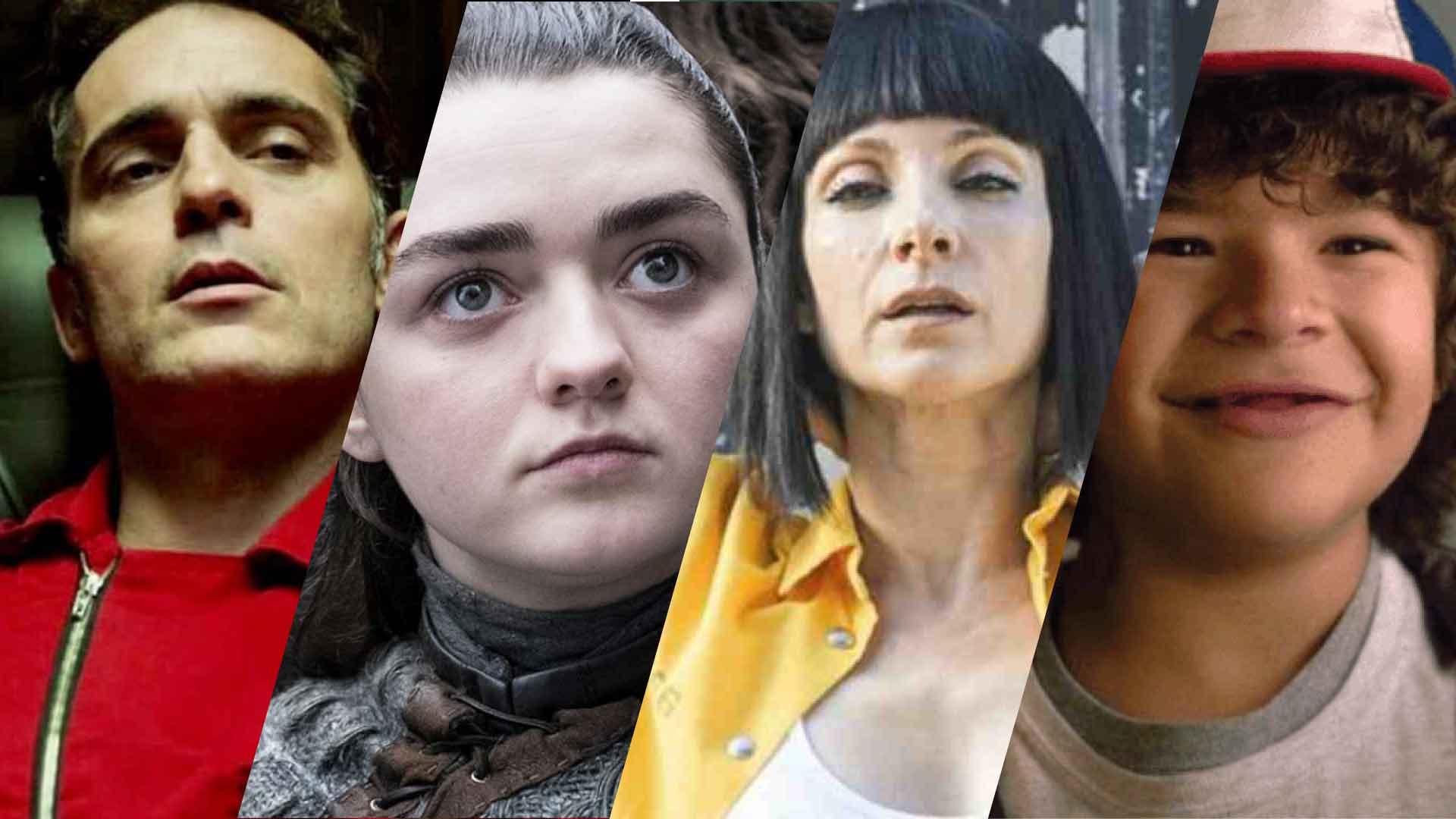 berlino, arya stark, zulema, dustin. Personaggi di serie TV costruiti su archetipi di Jung