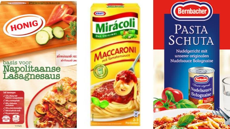 Primi piatti con nomi italian sounding