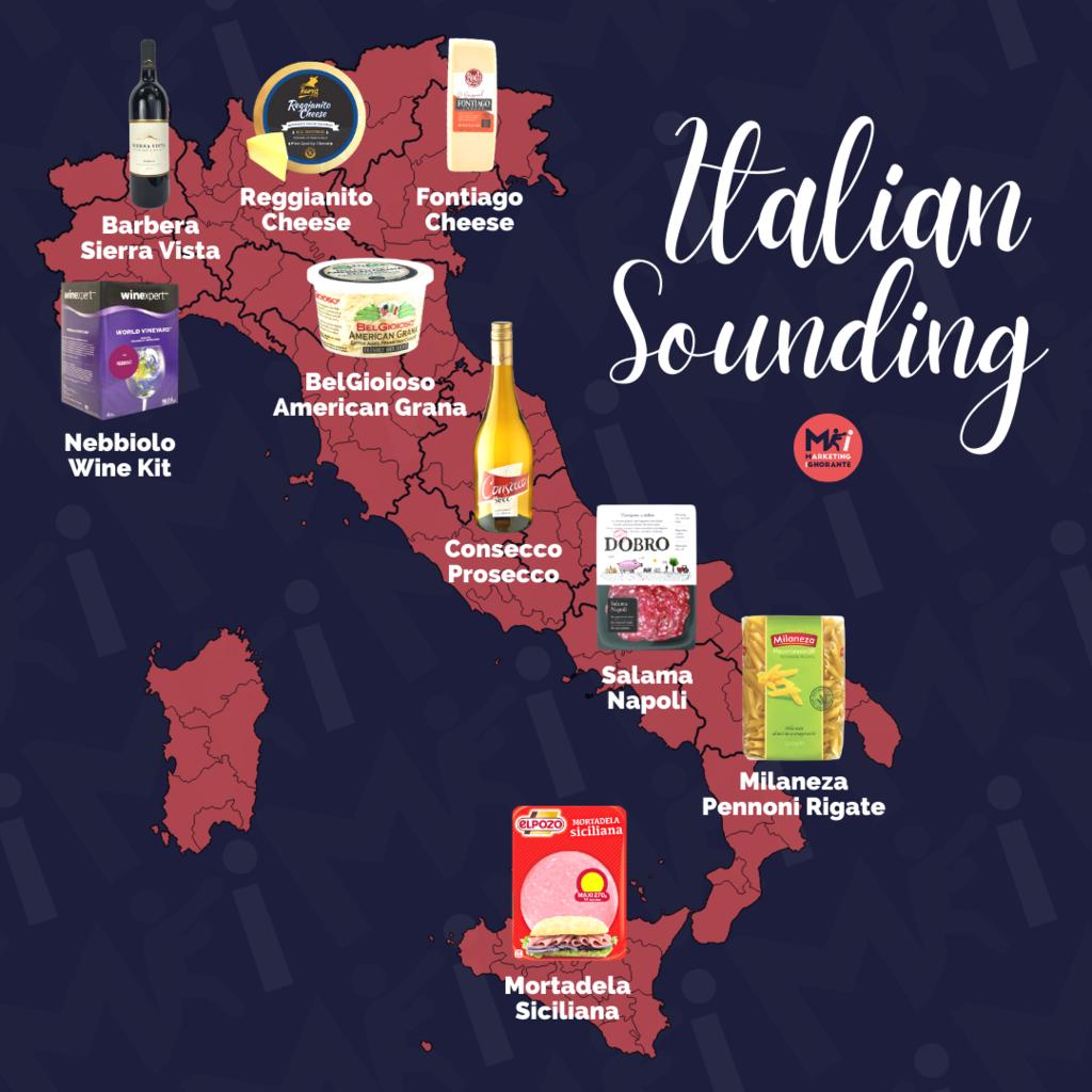 Prodotti Italian sounding