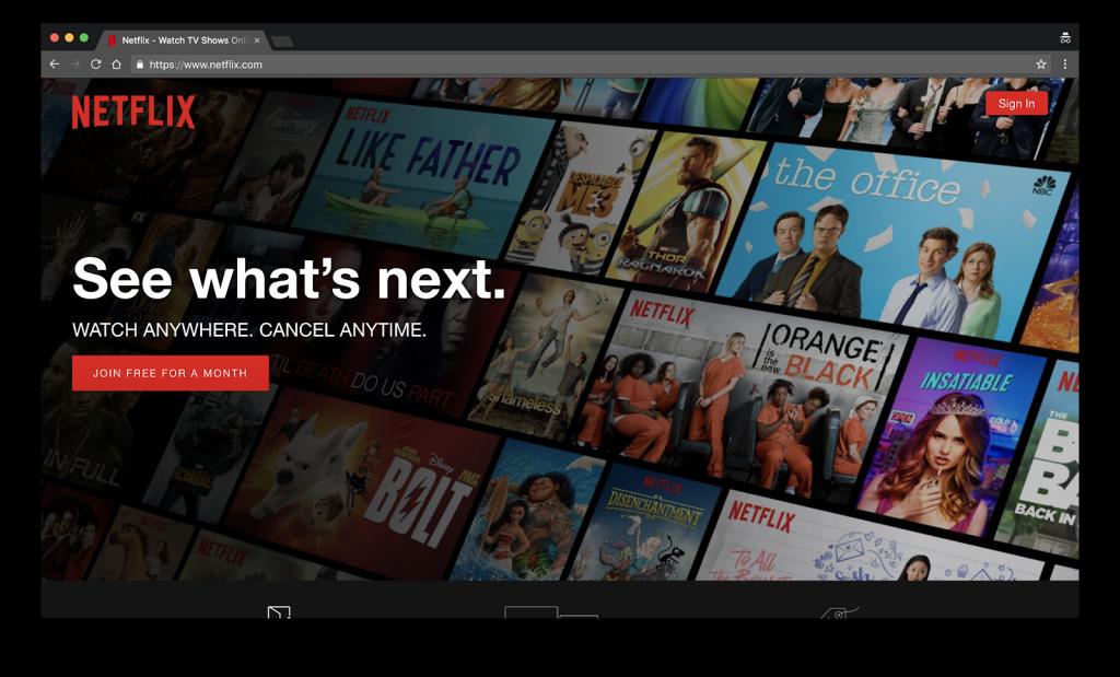 Netflix_homepage
