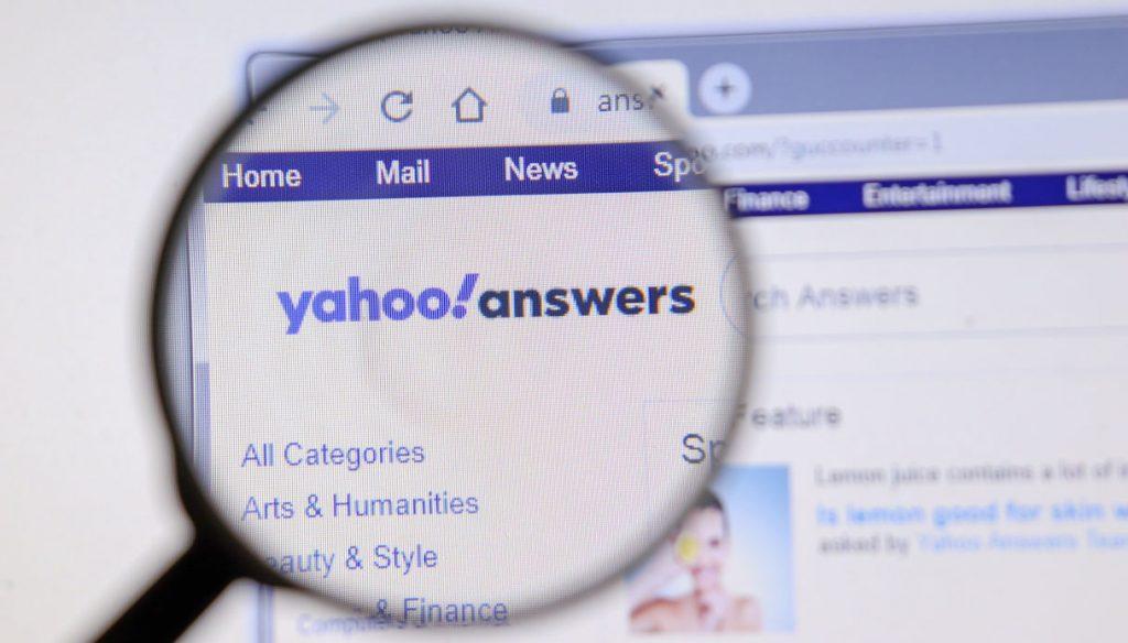 Yahoo answers chiude