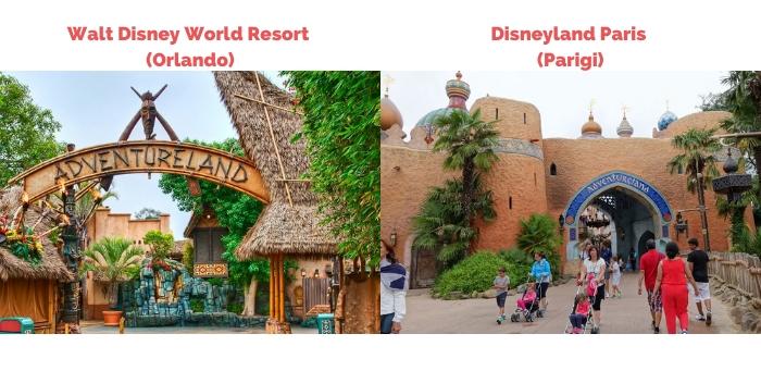 Differenze tra Walt Disney World Resort e Disneyland Paris