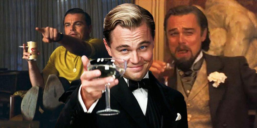 Leonardo Di Caprio drinking memes