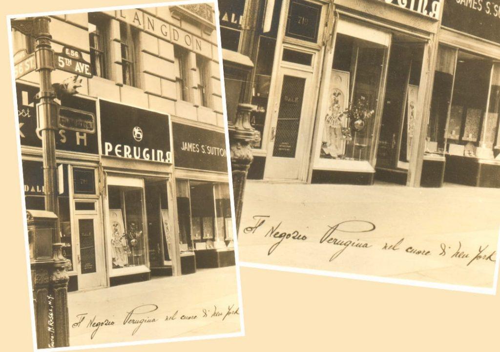 Foto della Boutique di Luisa aperta nel 1939 sulla Fifth Avenue in America