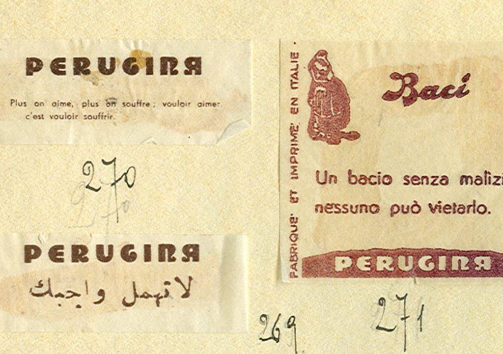 Cartiglio Baci® anni '30