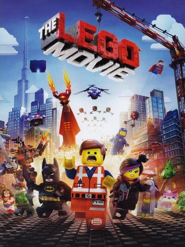 Locandina del film The Lego Movie (2014)