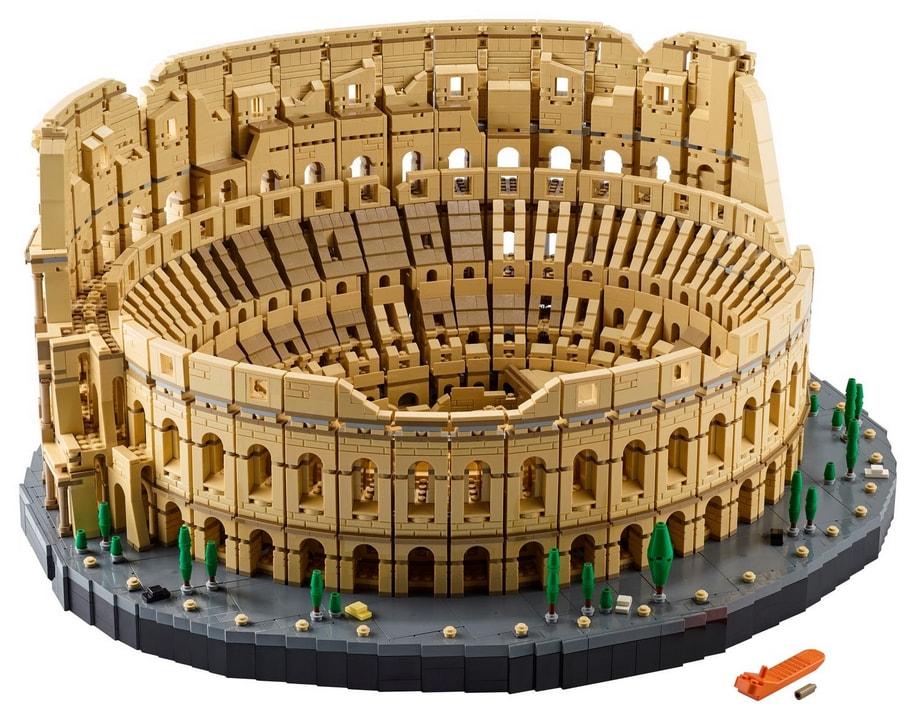 Colosseo fatto di LEGO