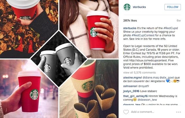 #theredcupcontest di Starbucks